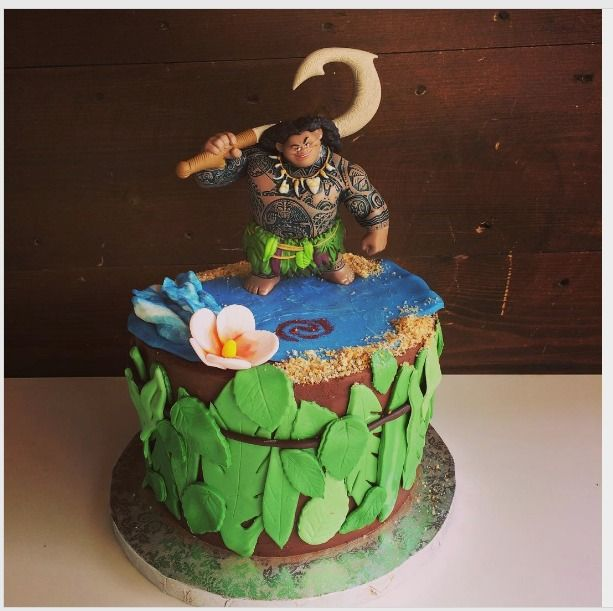 Best Ideas About Moana Birthday Party On Pinterest Disney - Maui birthday cakes