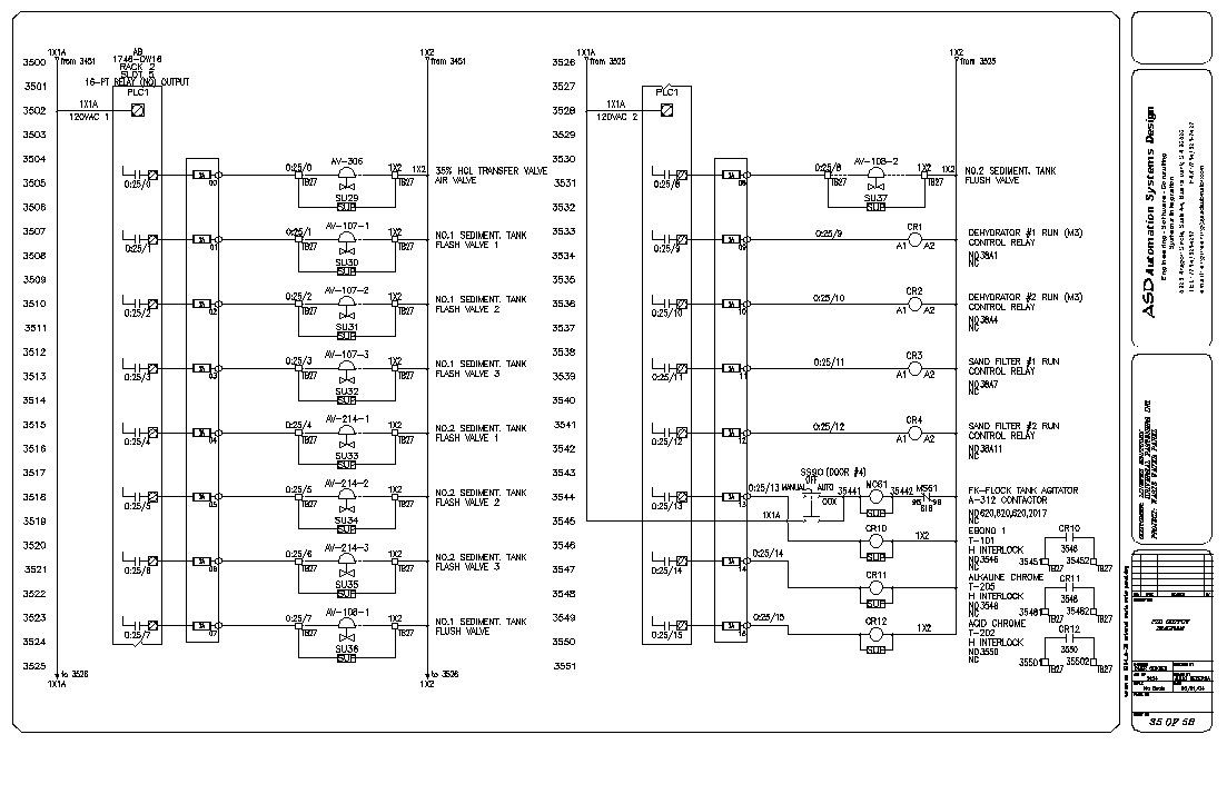 Control And Relay Panel Wiring Diagram : Plc control panel wiring diagram on
