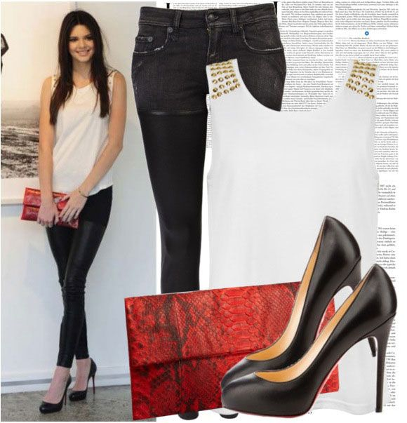 kendall jenner style polyvore - Buscar con Google