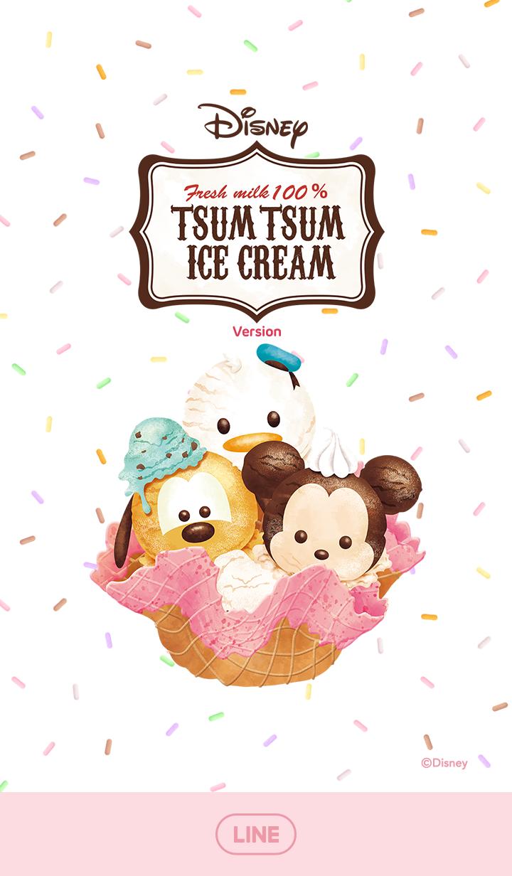 Disney Tsum Tsum (Ice Cream) – LINE theme | LINE STORE