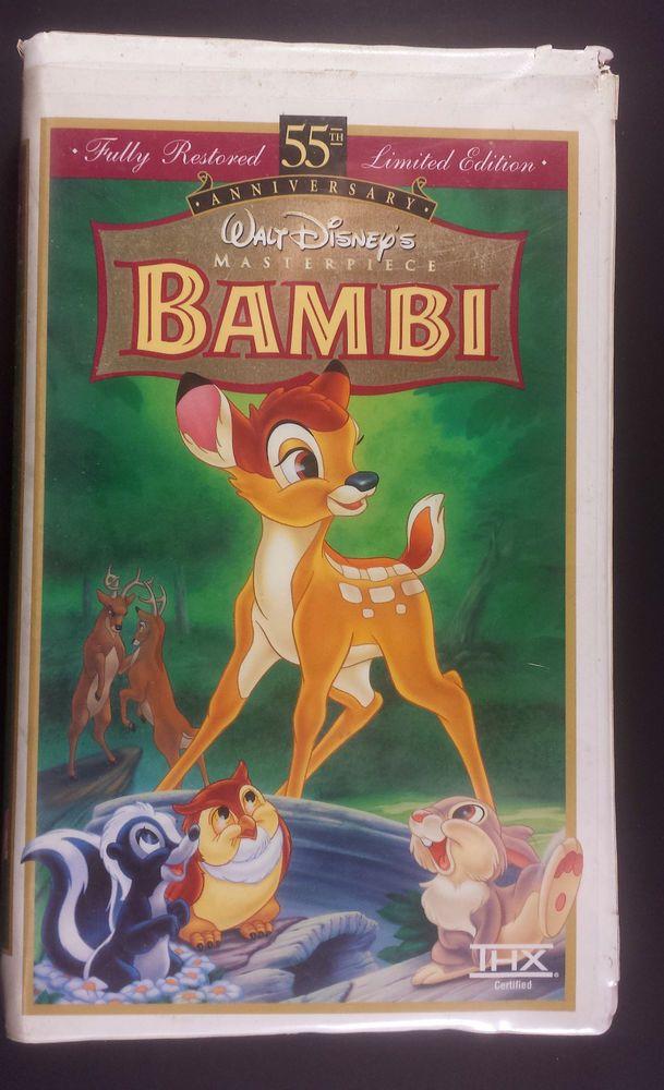 BAMBI – Fully Restored Limited Edition 55th Anniversary Walt Disney Masterpiece