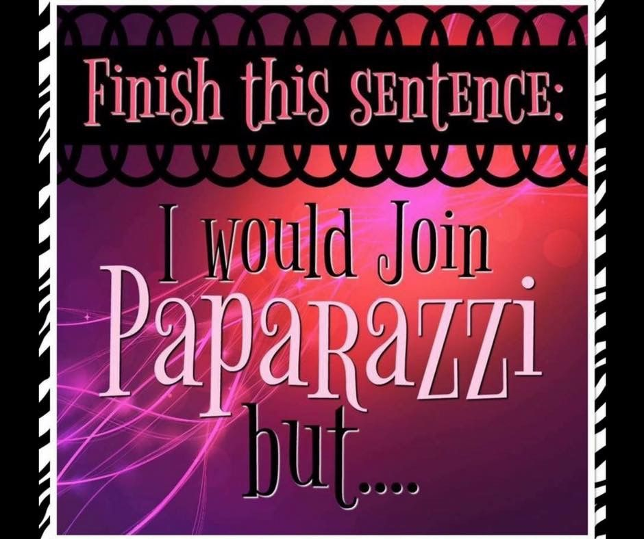 """What is your """"but""""? Forget any other experience with direct sales. Paparazzi jewelry is not like any other. Great jewelry for a great price is a no brainer. www.adornedforless.com"""