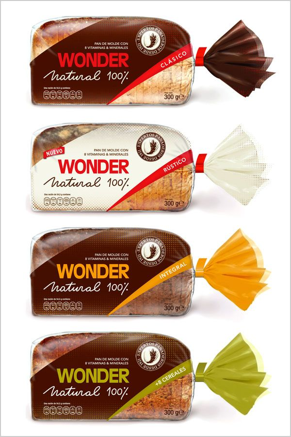 wonder bread packaging design ideas food packaging - Packaging Design Ideas