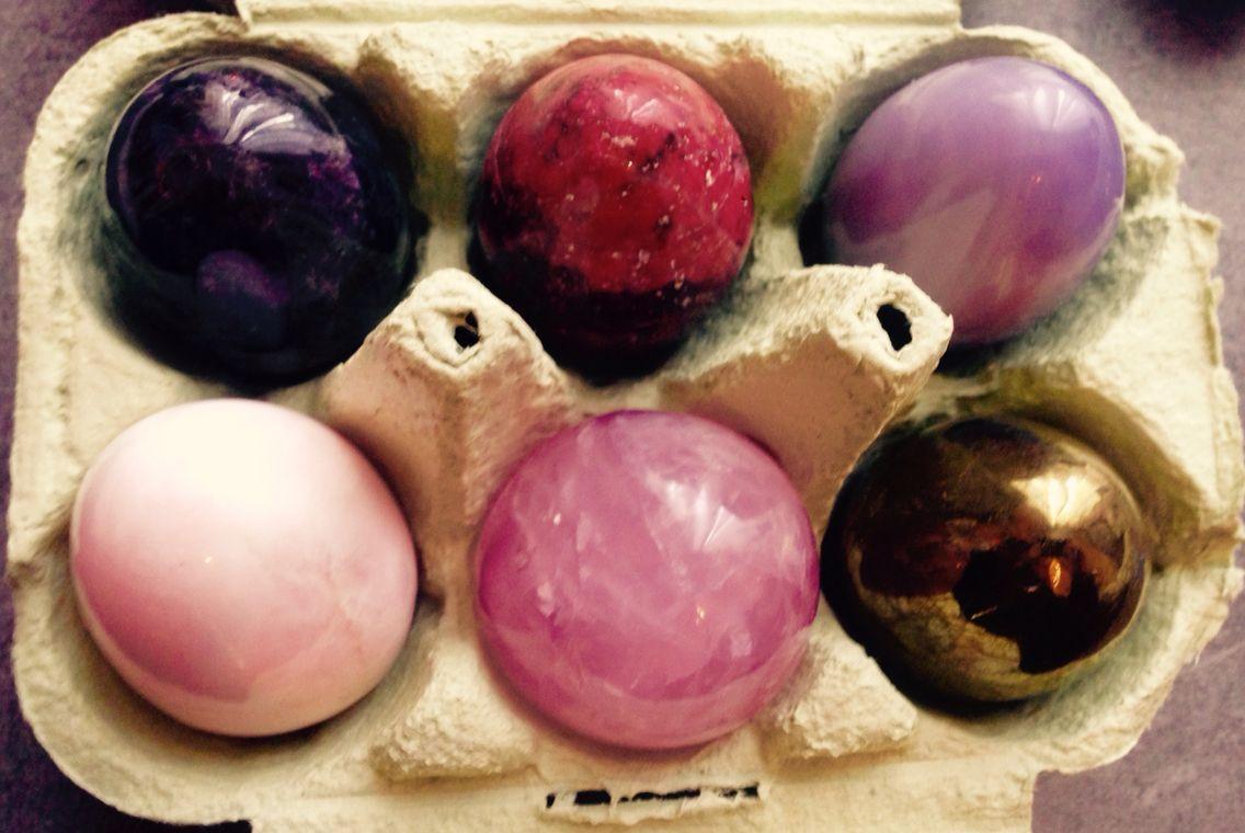 Œufs en pierre, pour fêter Pâques autrement
