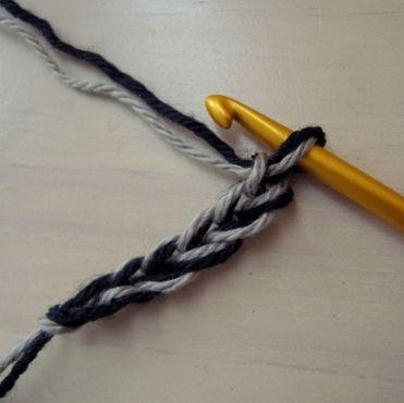 cómo combinar los hilos para conseguir tejidos de colores combinados