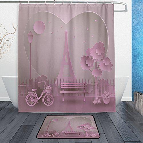 Valentine S Day French Paris Love Pink Eiffel Tower Water Https