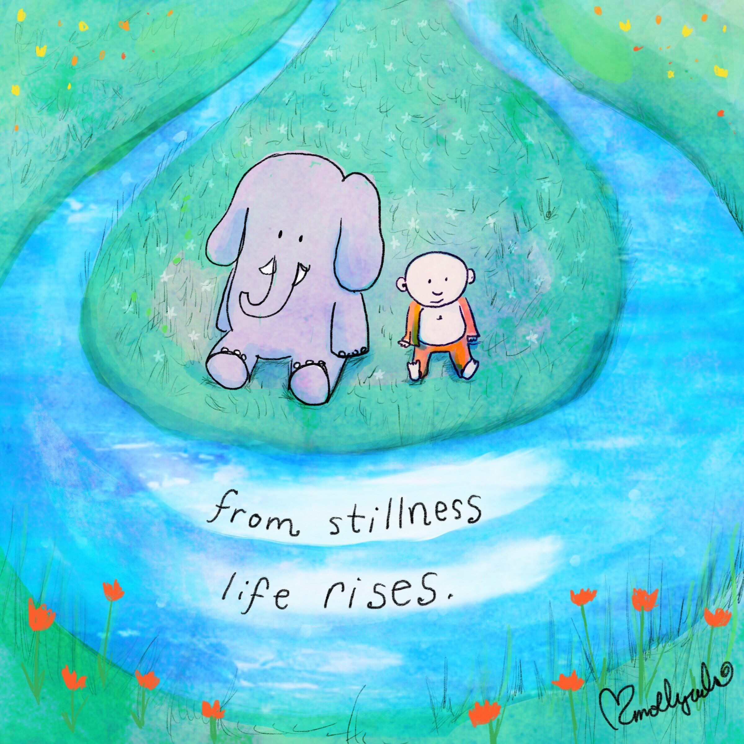 Stillness Quotes: Buddha Doodle, Buddah Doodles, Buddha
