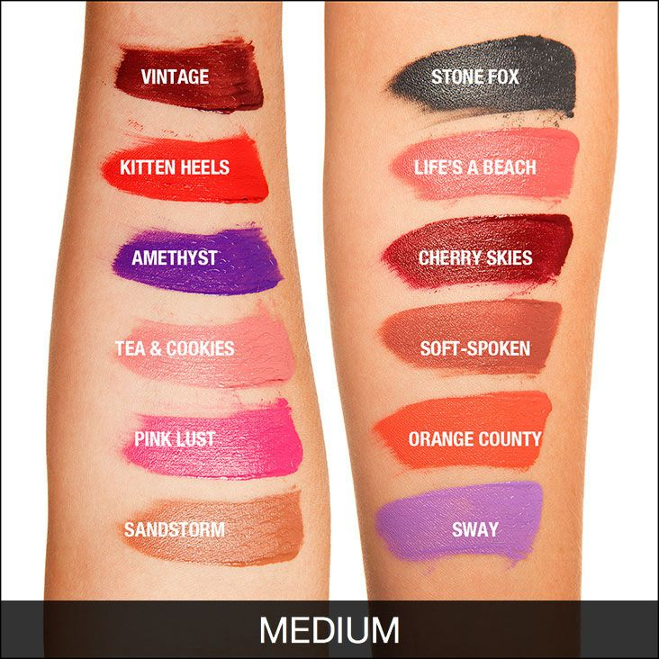 Liquid Suede Cream Lipstick Landing Page I want cherry skies ...