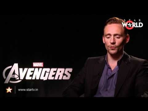 Exclusive Interview with Tom Hiddleston -- Avengers (never seen this one before...)