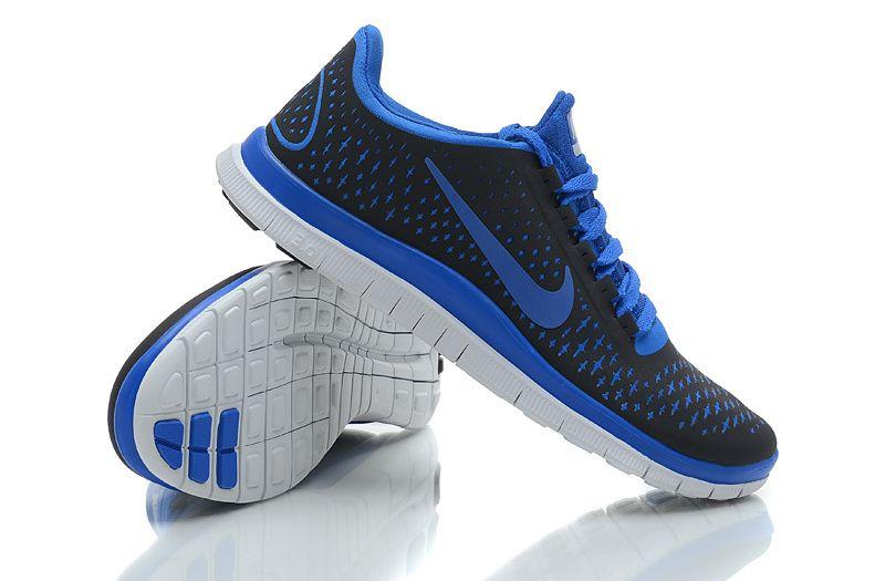 Nike-Free-3.0-V4-Mens-Running-boots-Black-