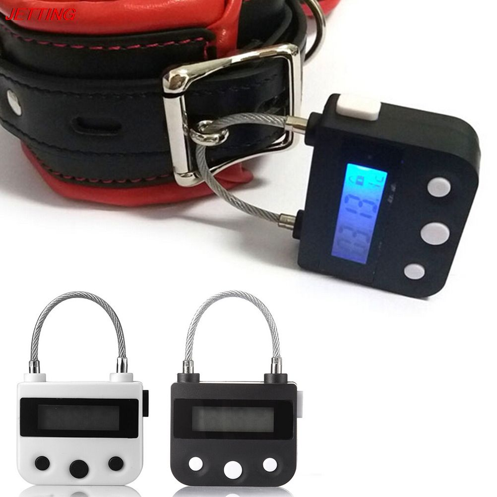 Handcuffs Mouth Gag Electronic Timer Bdsm Bondage Restraints ...