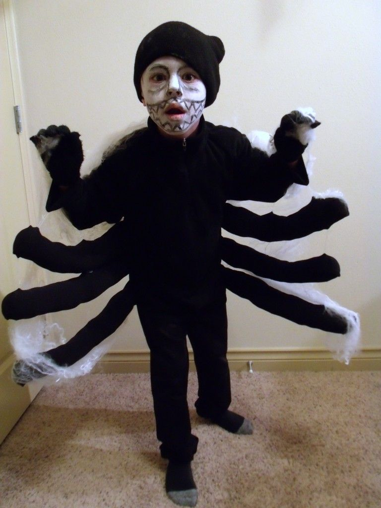 I hope you love your spider costumes as much as we love ours! And now it's time for tons more DIY Halloween costume inspiration! Click on the links below each collage to get the detailed instructions about how to make the costume pictured, just like mine above. 1. Handmade Baby Hamburger Costume 2. DIY Baby Game Boy Costume 3.