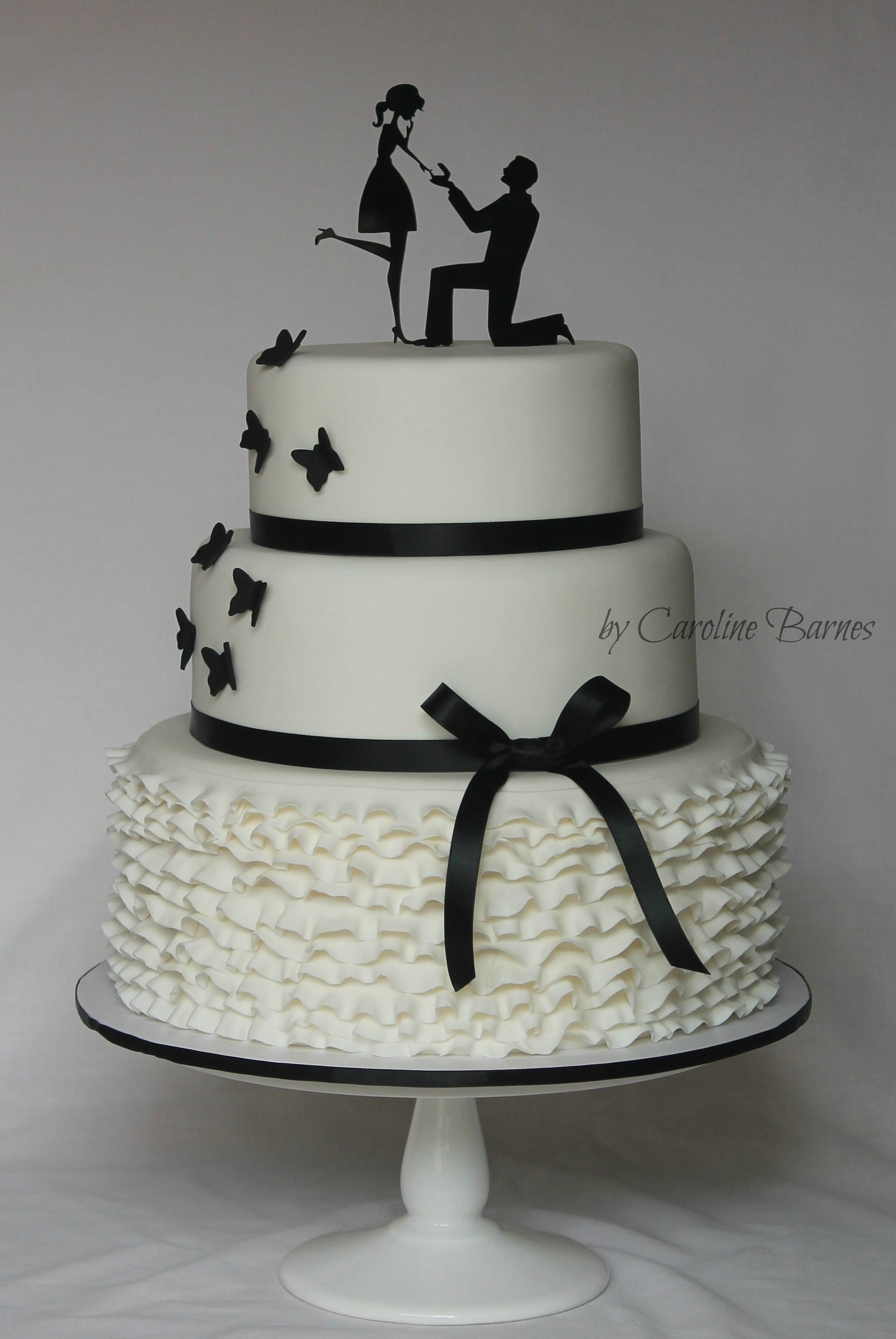 Cake Decorators Be Inspired By 7 Beautiful Silhouette Cakes