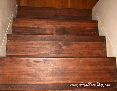 Minwax English Chestnut Giving The Stairs New Life