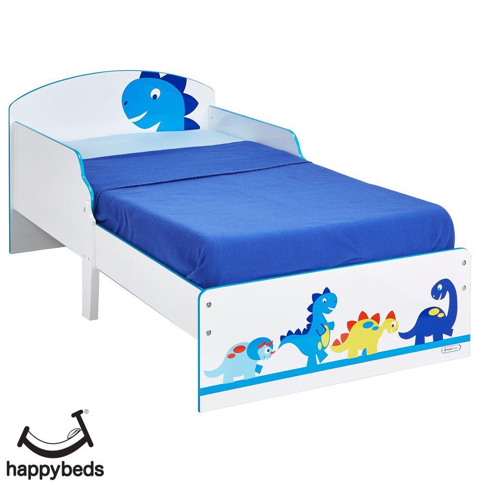 Dinosaurs Toddler Bed in 2020 | Dinosaur toddler bedding ...