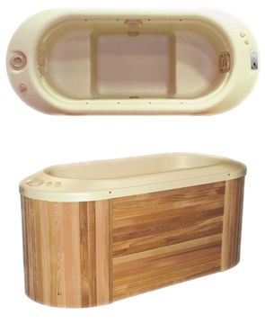 Bella Spa Hydrotherapy At Home Small Hot Tub Hot Tub Garden