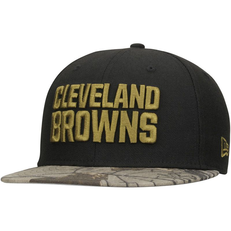 ff7ccbe2 Cleveland Browns New Era Rambo 59FIFTY Fitted Hat - Black/Realtree ...