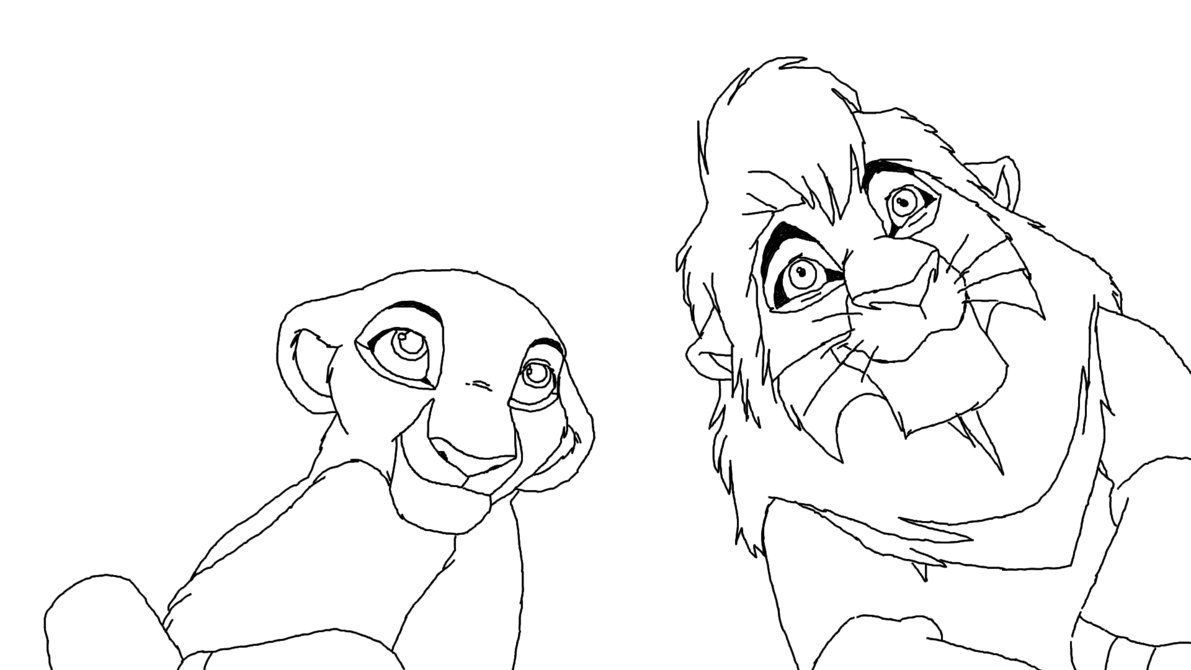 King Coloring Book Coloring Pages Lion King