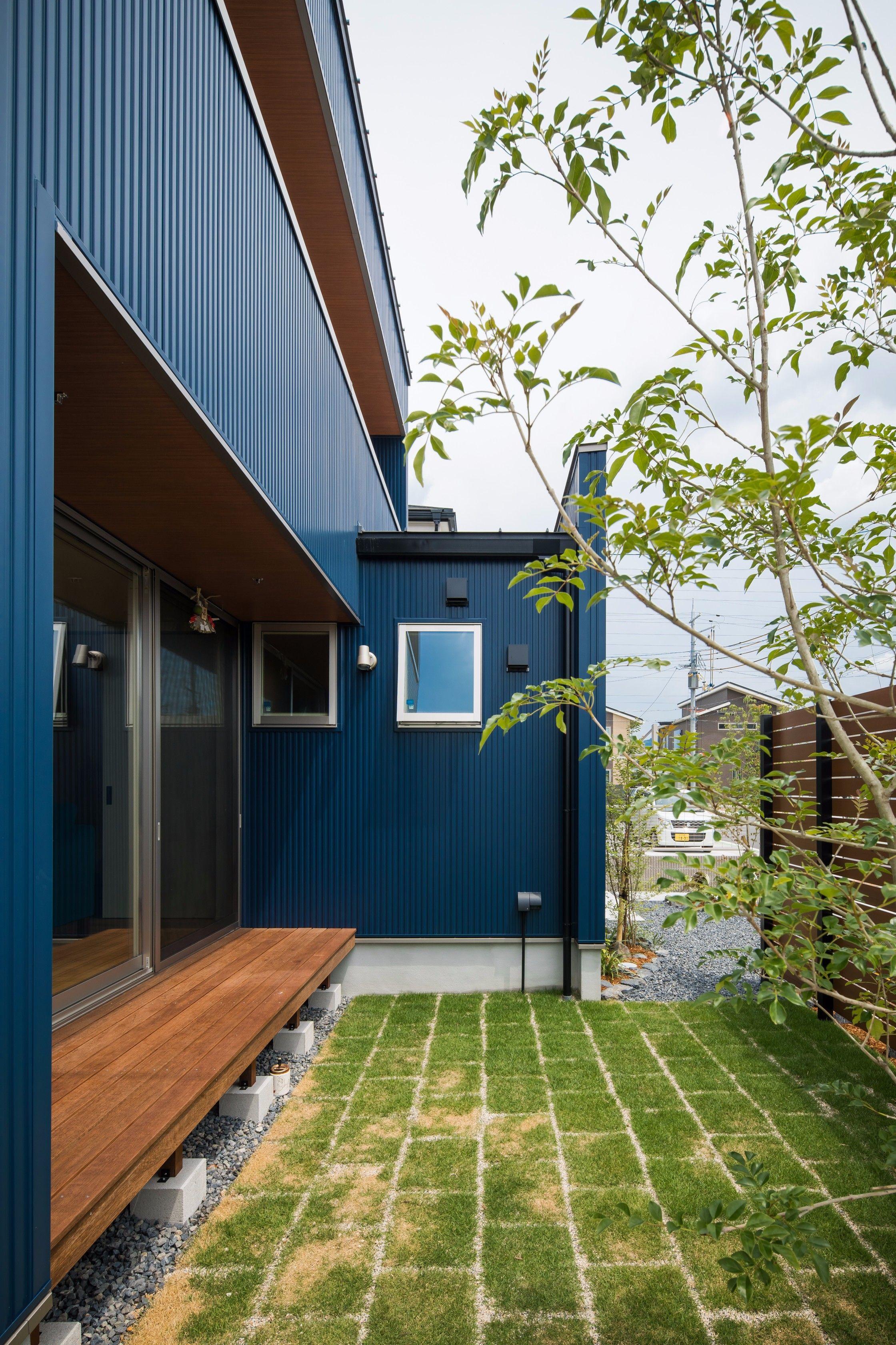 風にそよぐ緑にほっこりする庭 ルポハウス 設計事務所 工務店 設計