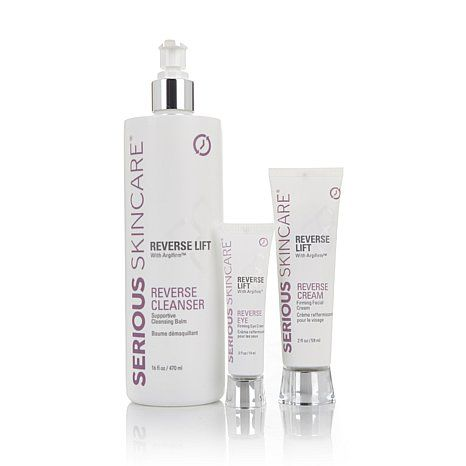 Serious Skincare Super Clean Lift Kit Hsn Skin Care Cream Cleanser Lift Kits
