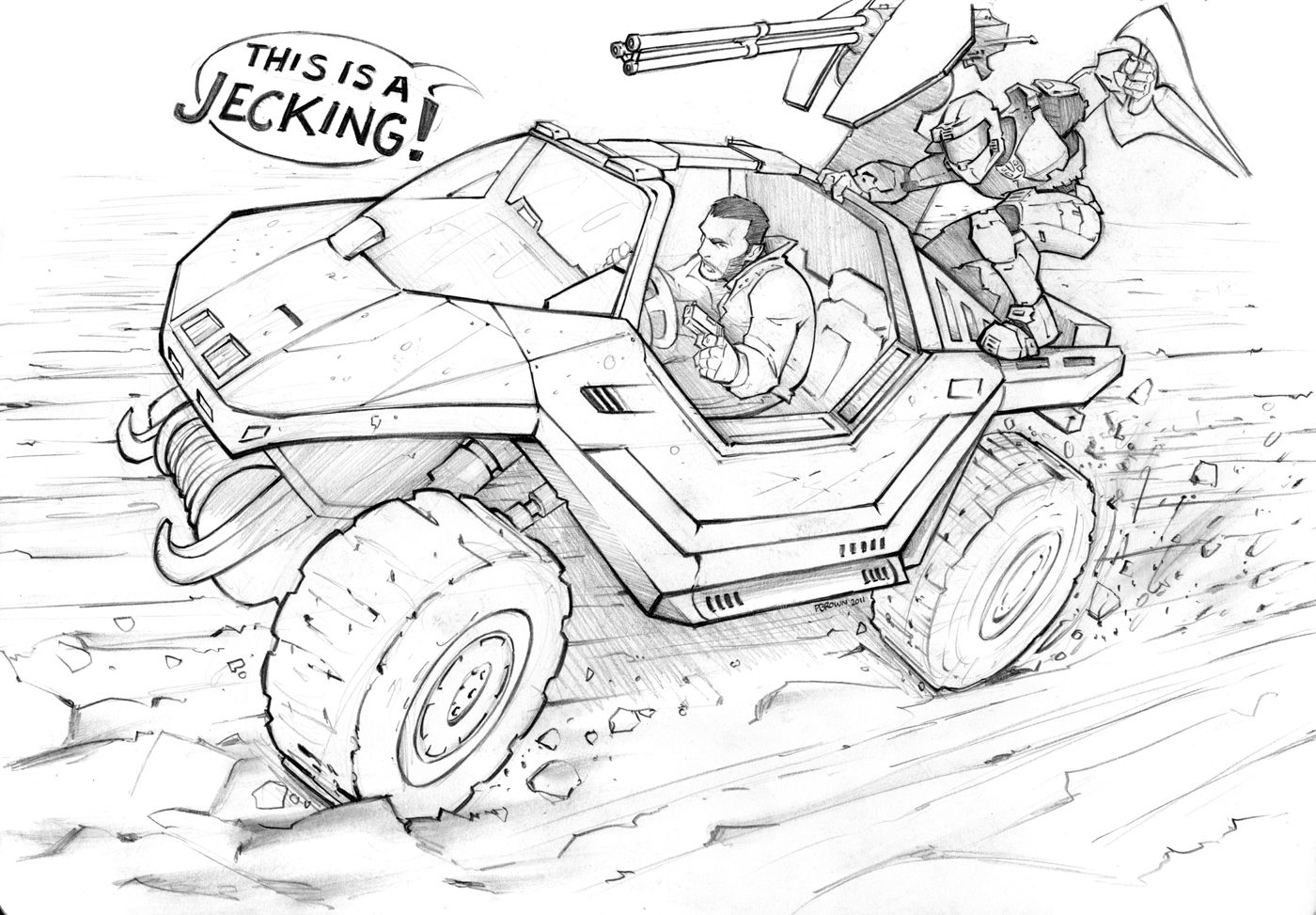Grand Theft Auto Halo By Patrickbrown On Deviantart Grand Theft Auto Halo Drawings Character Design