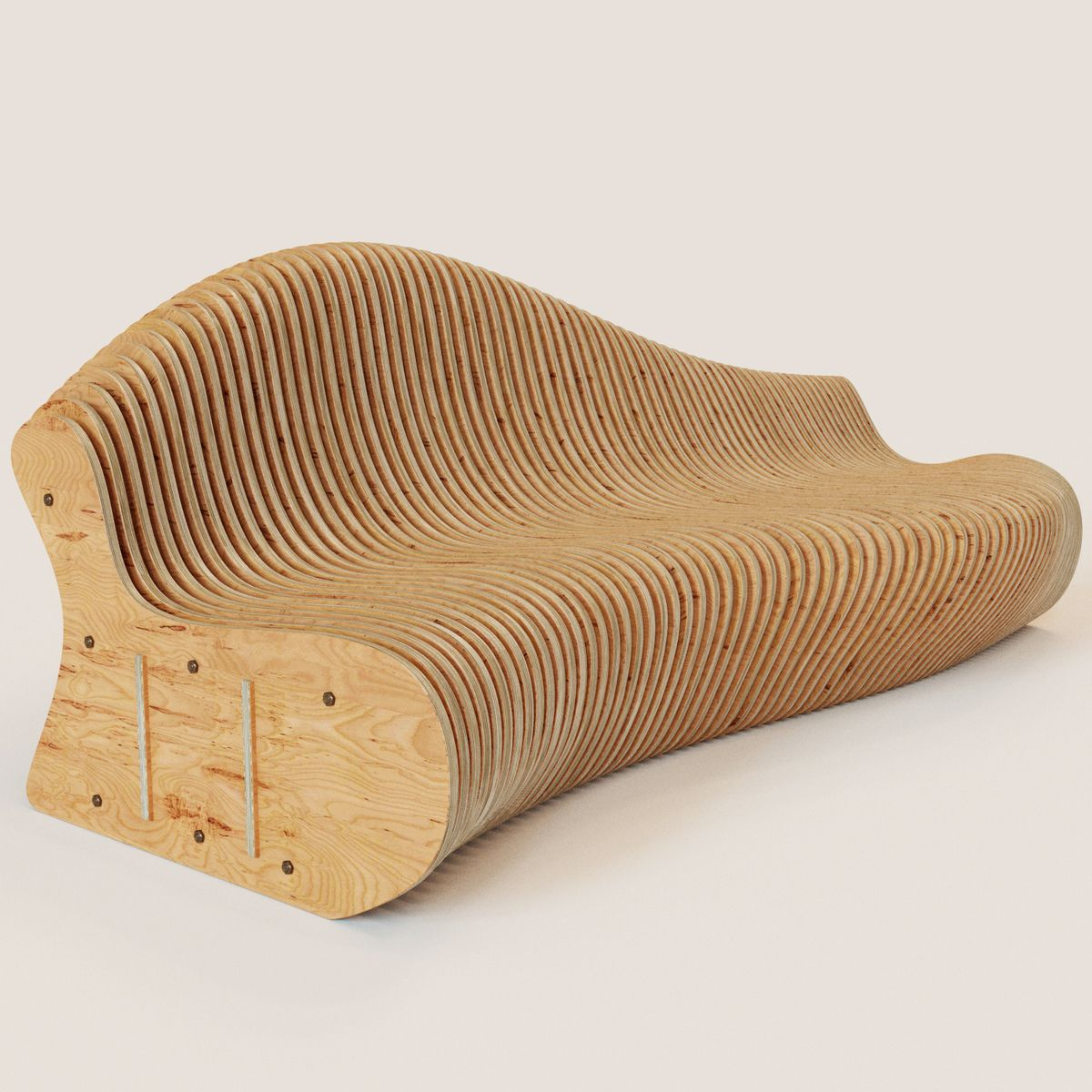 3D Model Parametric Bench | Outdoor Furniture 3D Models | Beskor   3D  Squirrel