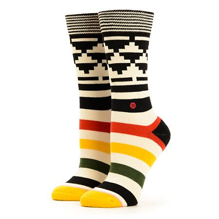 Stance Tomahawk Tribal Crew Socks