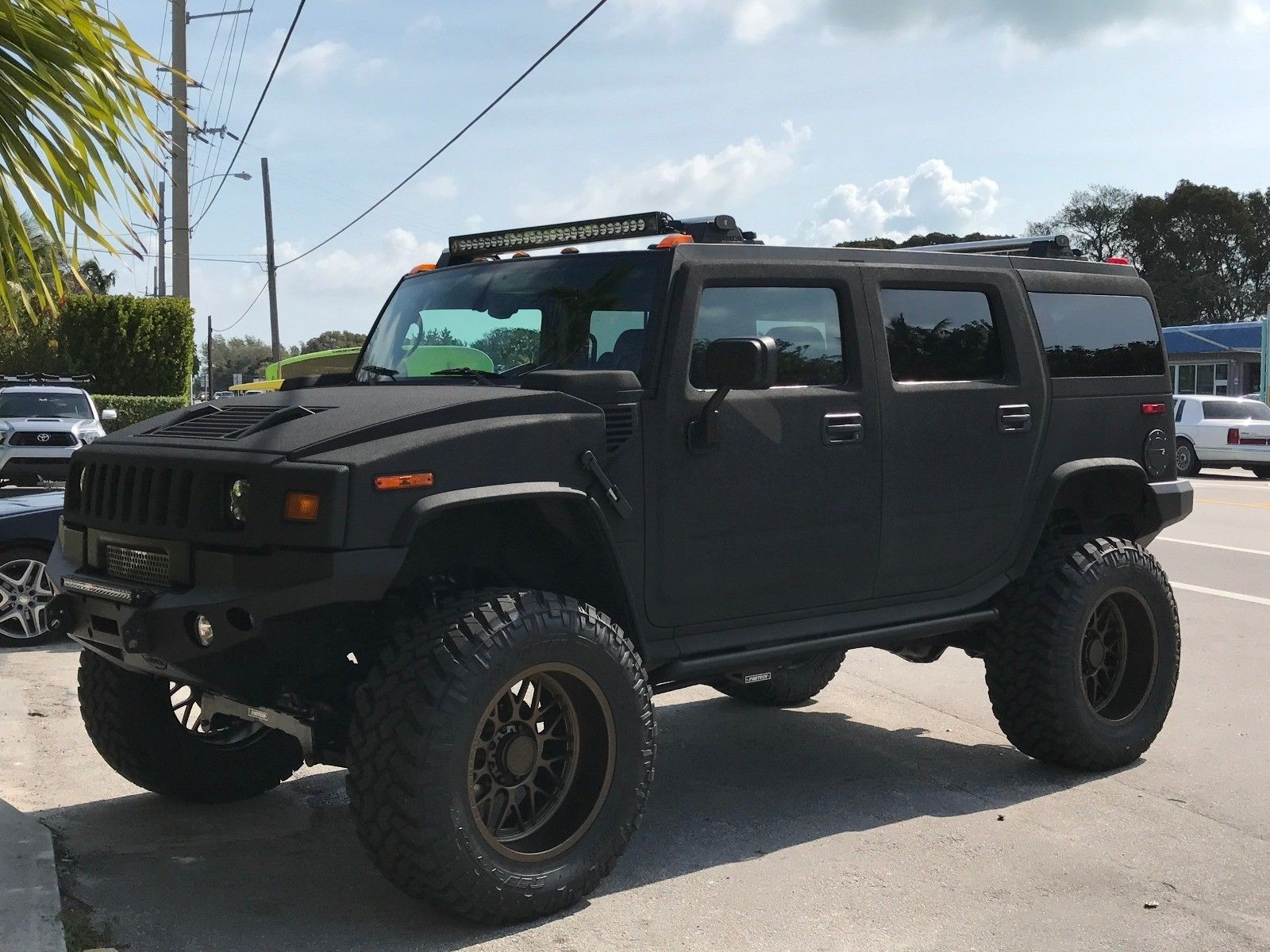 Cool Awesome 2003 Hummer H2 Dupont Kevlar Black Paint Hummer H2 Restored By Sobe Jeep Of Fort Lauderdale 2017 2018 Check More At H Hummer H2 Hummer Hummer Cars
