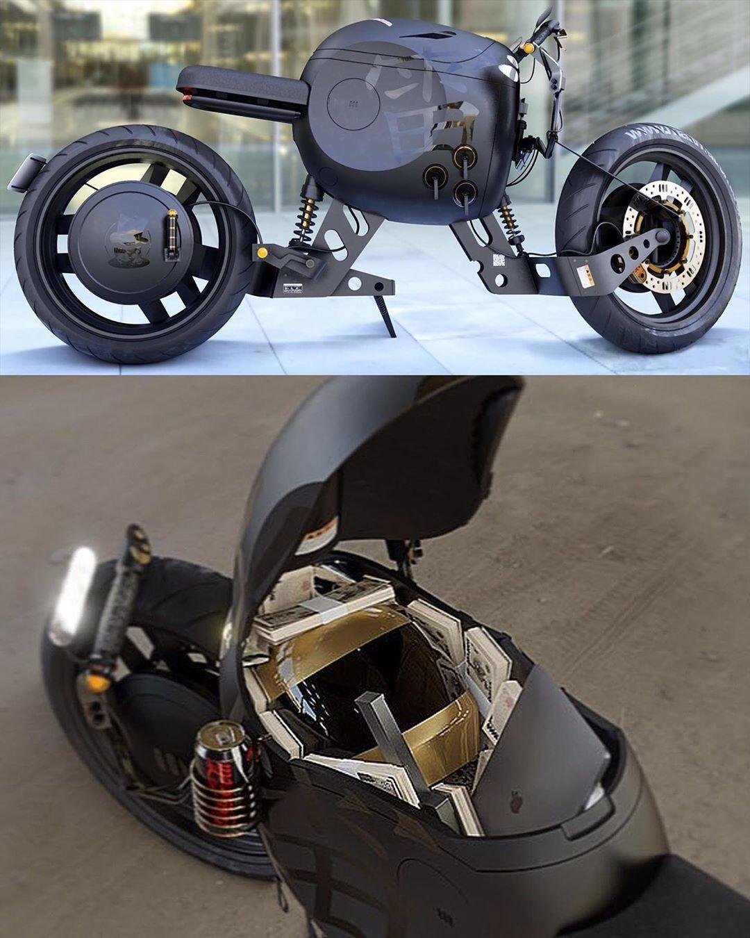 Electric Motorcycle By Matt Tkocz Matttkocz Cardesign