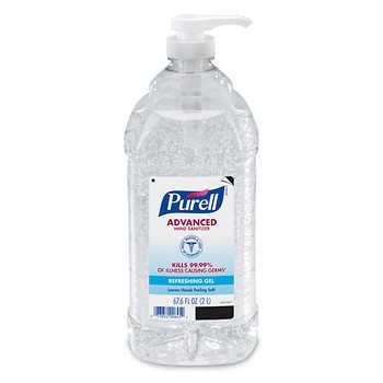 Purell Instant Hand Sanitizer Pump Bottle 2l Hand Sanitizer
