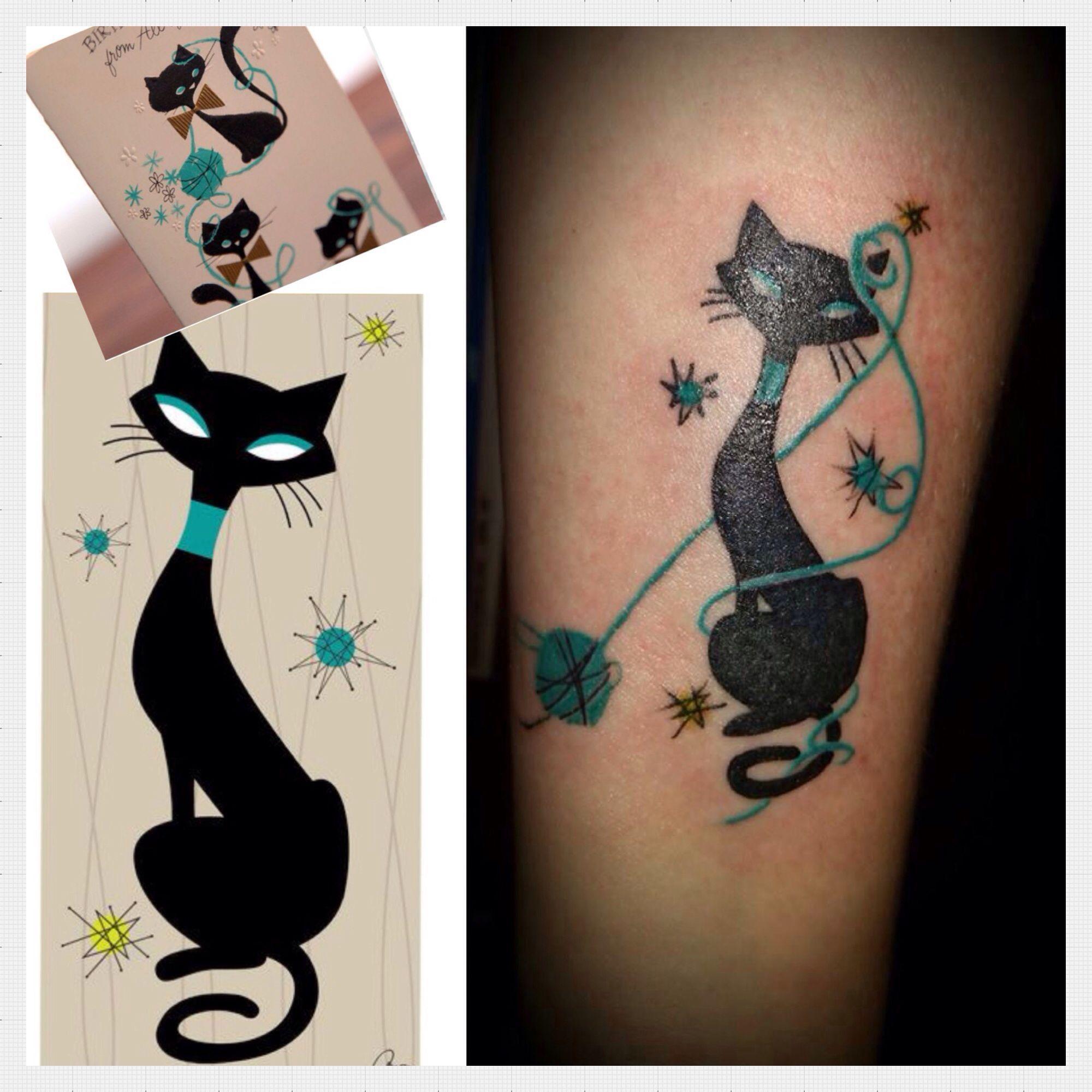 Pin by Katelyn Jakolat on Symbolic Tattoo Trends Cat