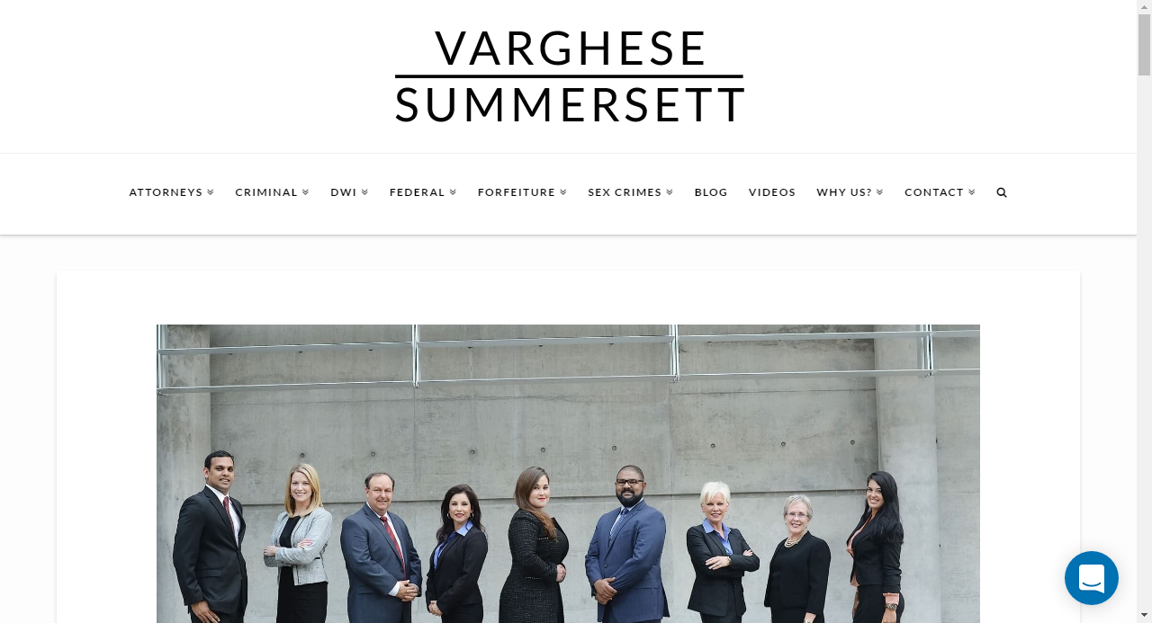 Varghese Summersett Criminal Defense Serious Business Fort Worth