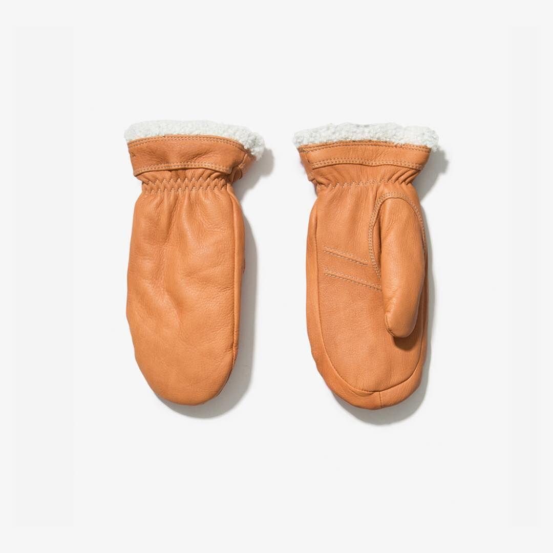 Hestra Sundborn Leather Mitten