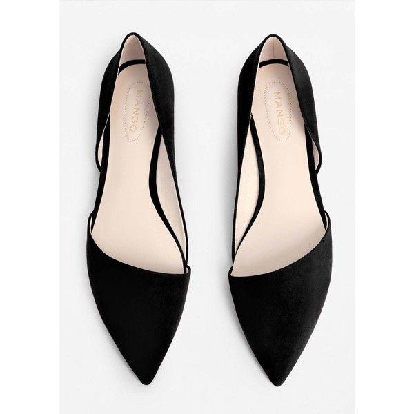 MANGO Pointed toe flat shoes (360 EGP