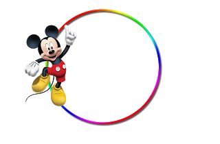 Molduras Png Simples Turma Do Mickey Imagens Para Photoshop