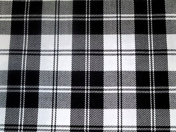 Menzies Black Plaid Tartan Sale By Yard Fabricblack And White Plaid
