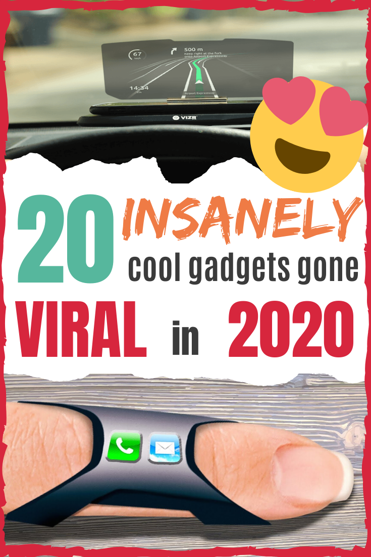 20 Insanely Cool Gadgets Gone Viral in 2020