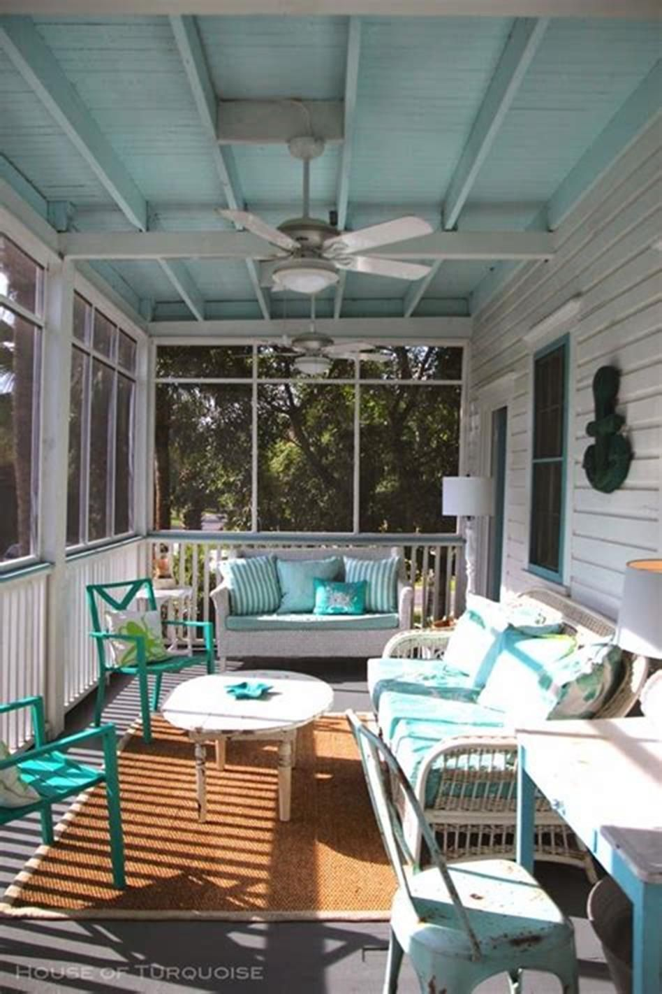 Screened In Porch Decorating Ideas On A Budget Southern Living