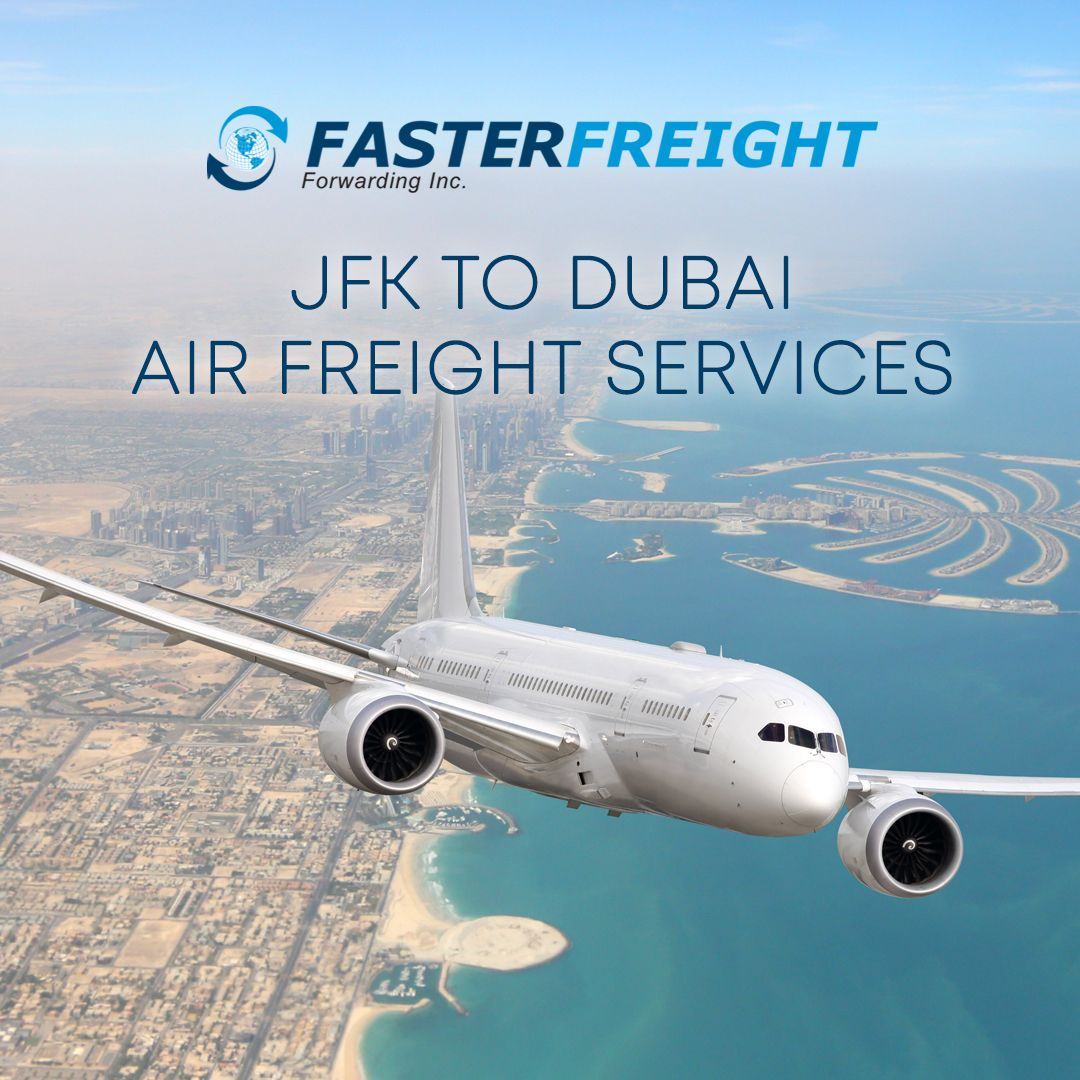 Send your urgent parcels to Dubai from New York City via