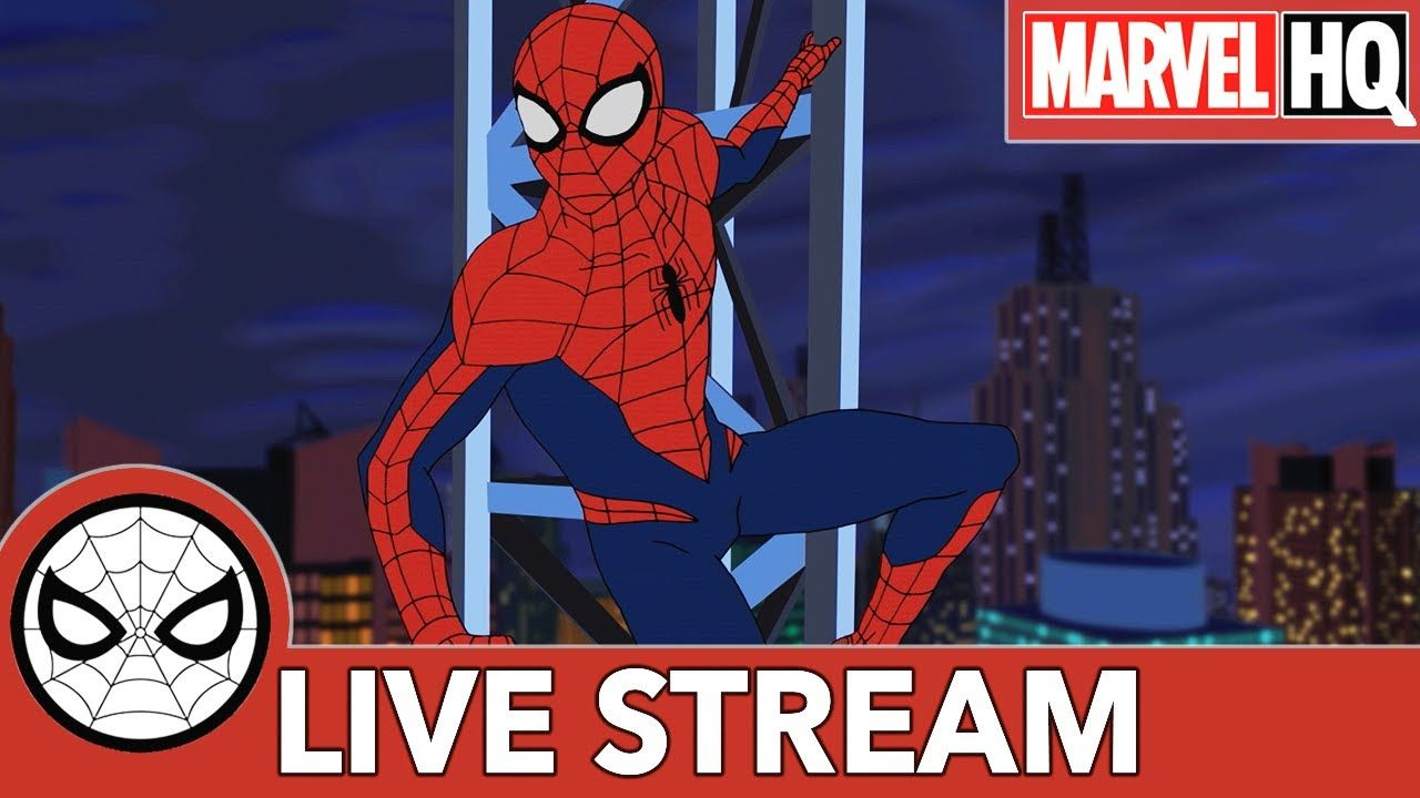 Marvel S Spider Man Live Stream Marathon Marvel Hq With