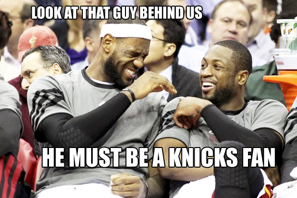 Heat Vs Knicks Fan Meme Memes Knicks Chicago Bulls