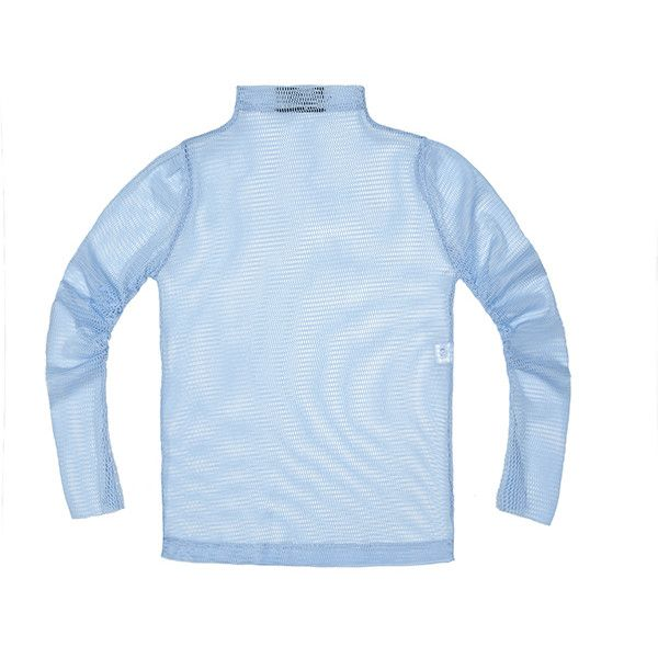 N-Duo Sky blue fishnet turtleneck ($128) ❤ liked on Polyvore featuring tops, sweaters, polo neck sweater, blue turtleneck, polo neck top, blue sweater and fishnet sweater