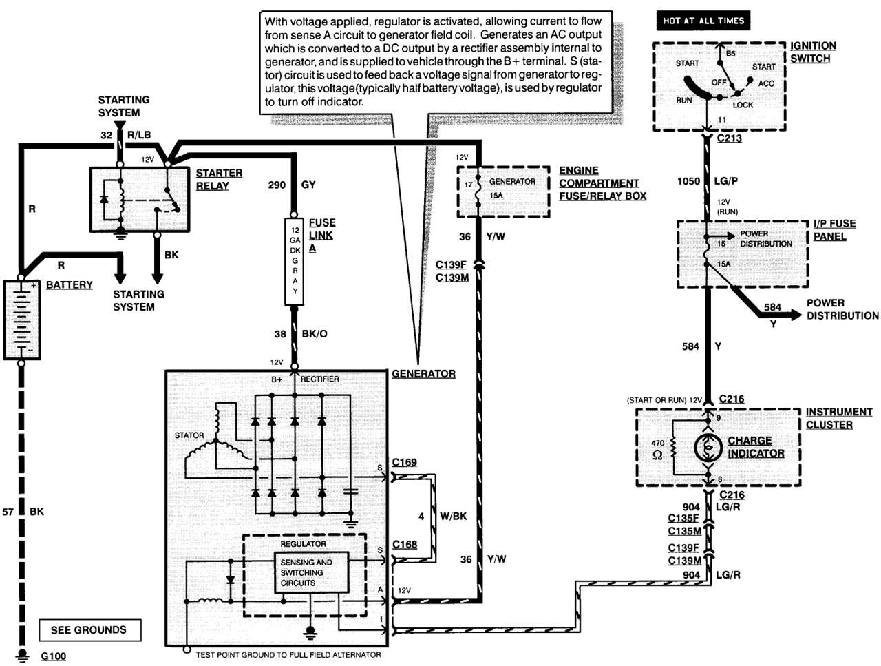 Inspiration Ford Alternator Wiring Diagram Ford Alternator