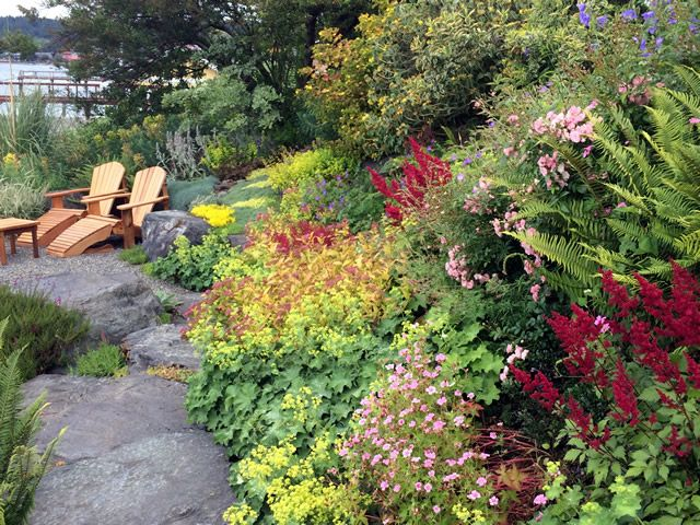 Peggys Garden In Washington Fine Gardening Magazine Garden