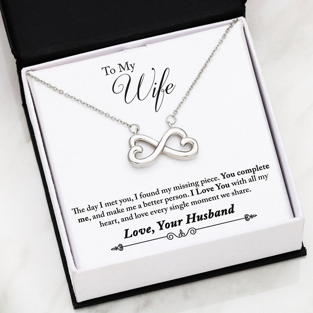 Happy Birthday Autumn Forever Love Heart Necklace 14k White Gold Finish Personalized Name Gifts