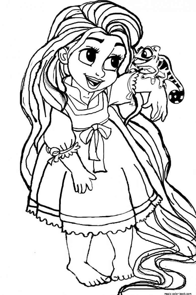 Pin by Magic Color Book on Princesses Coloring pages free online ...
