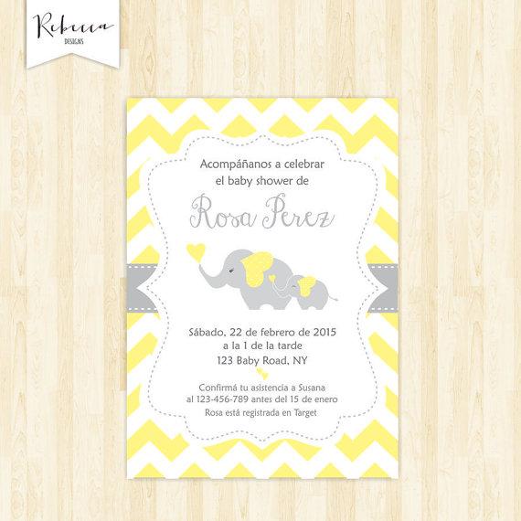Baby Shower In Spanish Espanol Girl Baby Shower Espanol Invite