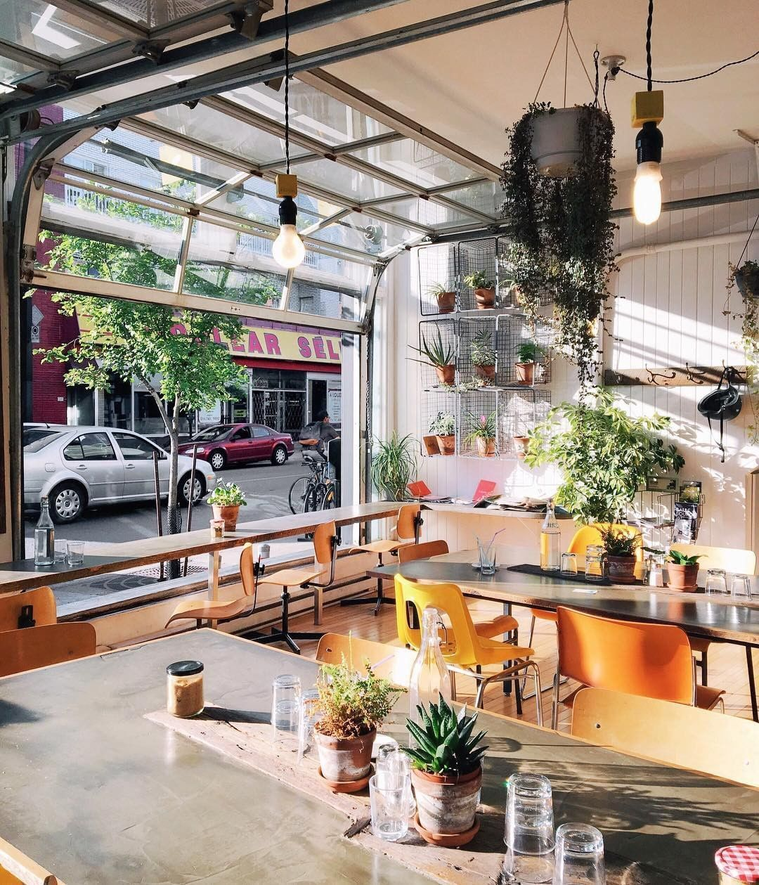 Natural Light Of Cafe Sfouf Modern Coffee Shop Coffee Shop Lighting Cozy Coffee Shop
