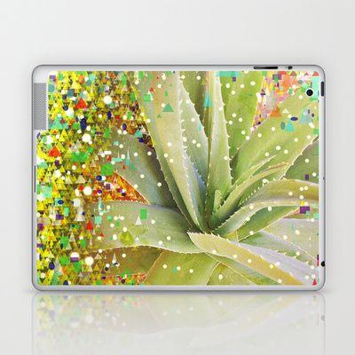 Aloe Christmas Laptop & iPad Skin by Miguel Á. Núñez I. - $25.00