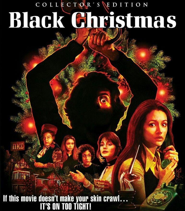 Black Christmas Shout Factory Horror Movie Slasher Black